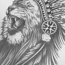 Lion_Drawing