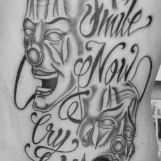 Kevin_Schmidt_Smile_Now_Cry_Later_Tattoo-Guns_N_Ink-Felix_Koch