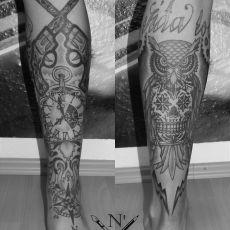 Kaiser_Leg_Sleeve-Guns_N_Ink-Felix_Koch